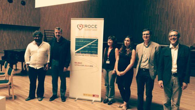 """""""Conectando personas emocionando con música"""" Bilbao 2016 - ROCE"""