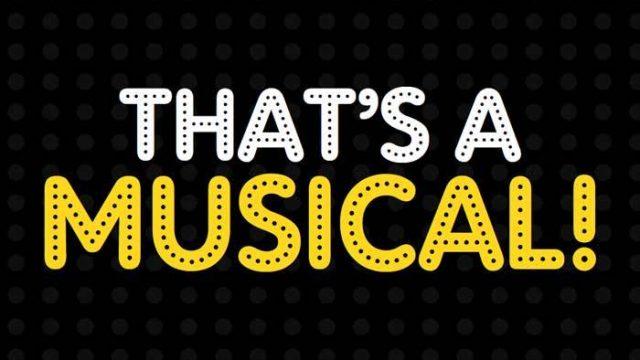 That's a musical - FUNDACIÓ LA CAIXA 2017