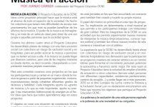 Musica en Acción - Artículo - OCNE